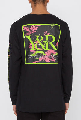 Young & Reckless Mens Electric Floral Long Sleeve