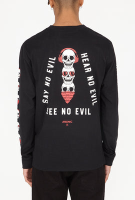 Arsenic Mens No Evil Long Sleeves