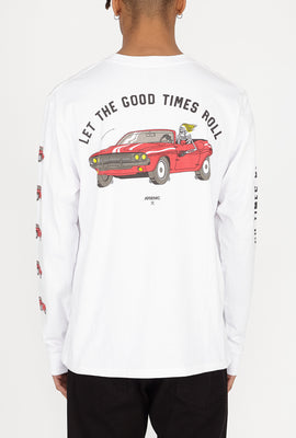 Arsenic Mens Let the Good Times Roll Long Sleeves