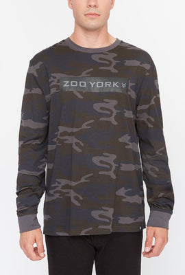 Zoo York Mens Camo Long Sleeve Shirt