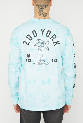 Zoo York Mens Tie-Dye Long Sleeve Top