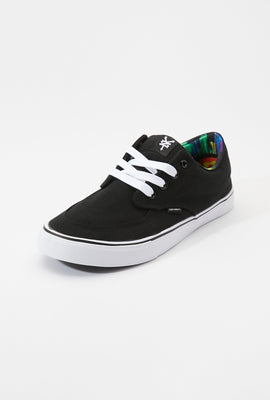 Zoo York Mens Black And White Ryan Shoes