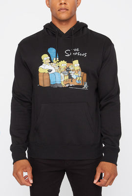 The Simpsons Mens Graphic Hoodie