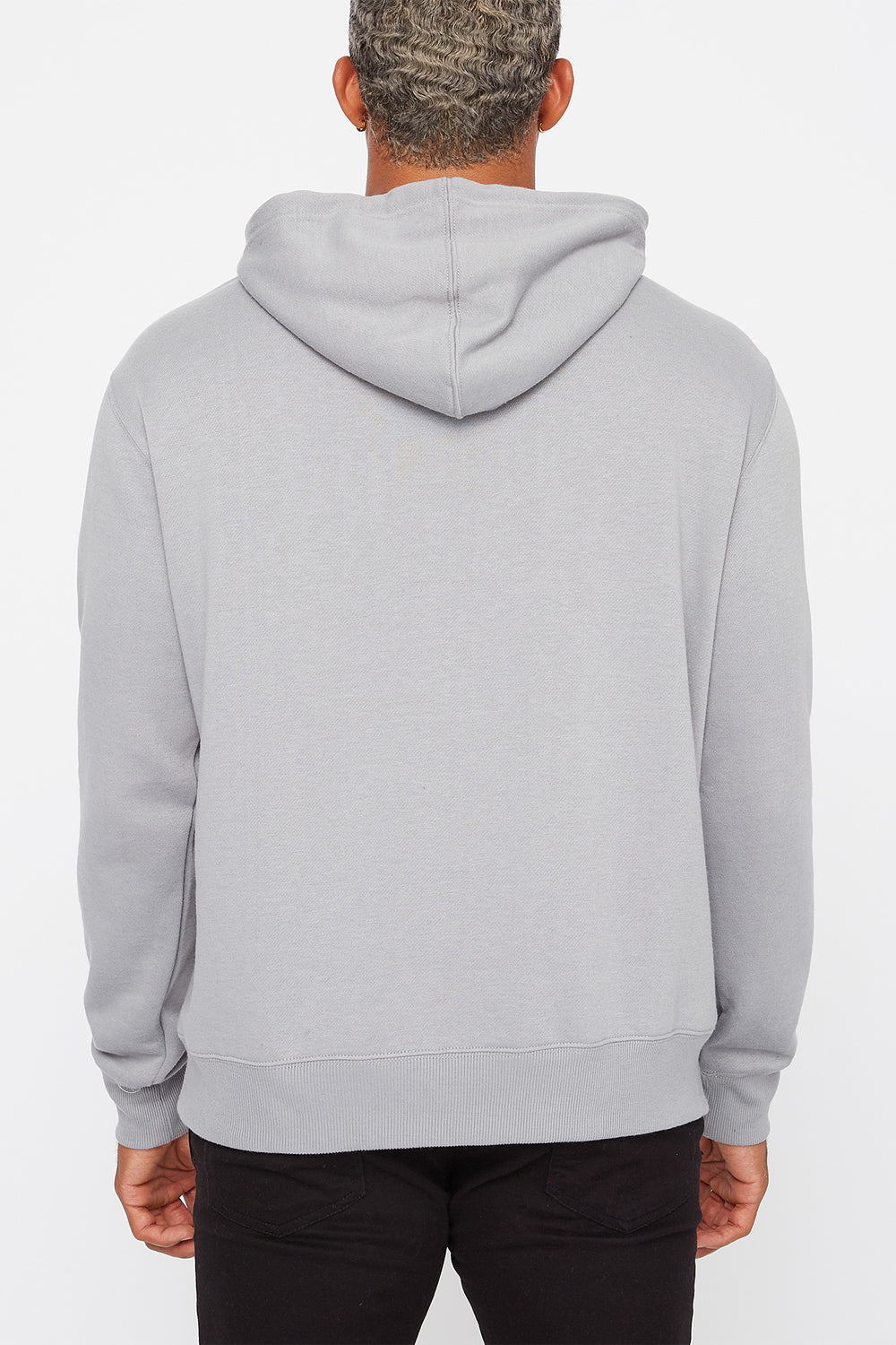Moe's Tavern Mens Graphic Hoodie Light Grey
