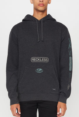 Young & Reckless Mens Vintage World Tour Hoodie