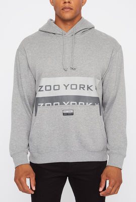 Zoo York Mens Behind Pocket Logo Hoodie
