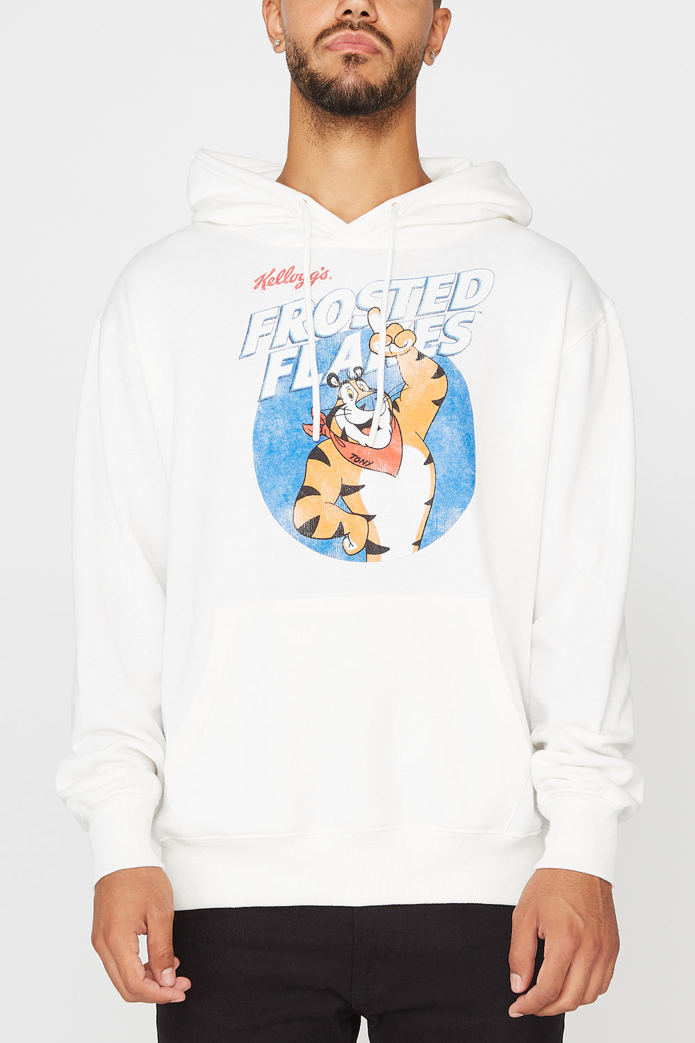 Mens Frosted Flakes Hoodie Off White