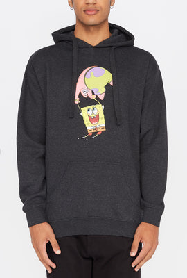 Mens SpongeBob and Patrick Star Hoodie