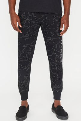 Zoo York Mens Reflective Camo Jogger