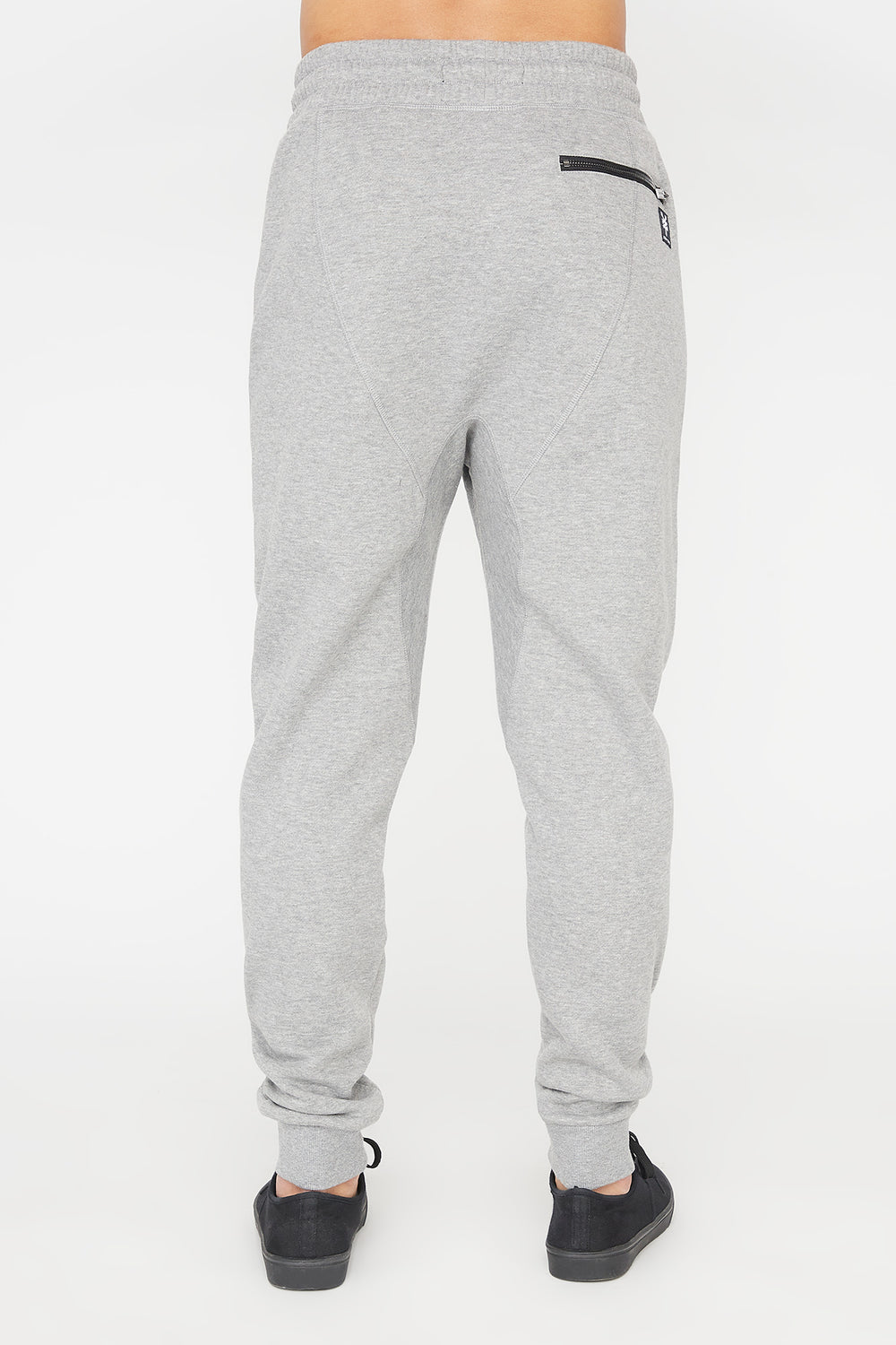 Zoo York Mens Zip Pocket Jogger Heather Grey