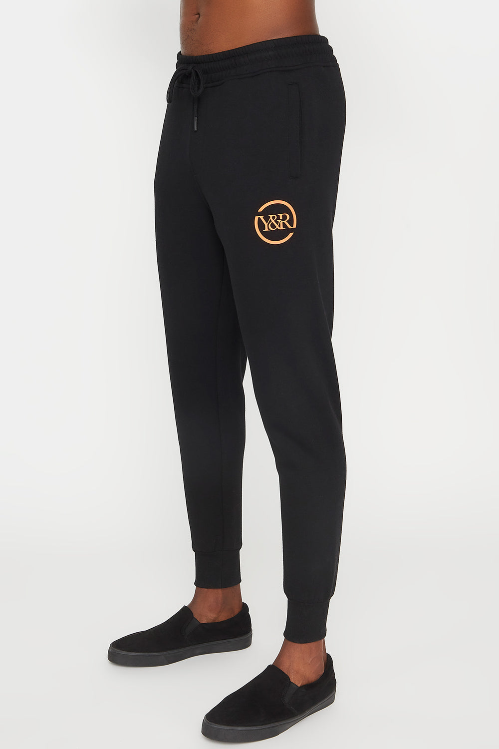 Young & Reckless Mens Logo Jogger Black