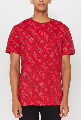 Zoo York Mens Reflective T-Shirt