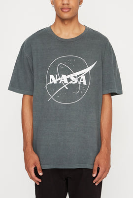 T-Shirt Imprimé Satellite NASA Homme