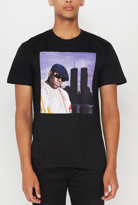 Mens Notorious B.I.G. Graphic T-Shirt