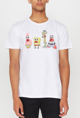 T-Shirt Imprimé SpongeBob Jaws Drop Homme