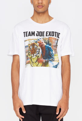 T-Shirt Imprimé Team Joe Exotic Homme