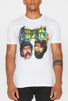 T-Shirt Imprimé Cheech & Chong Homme