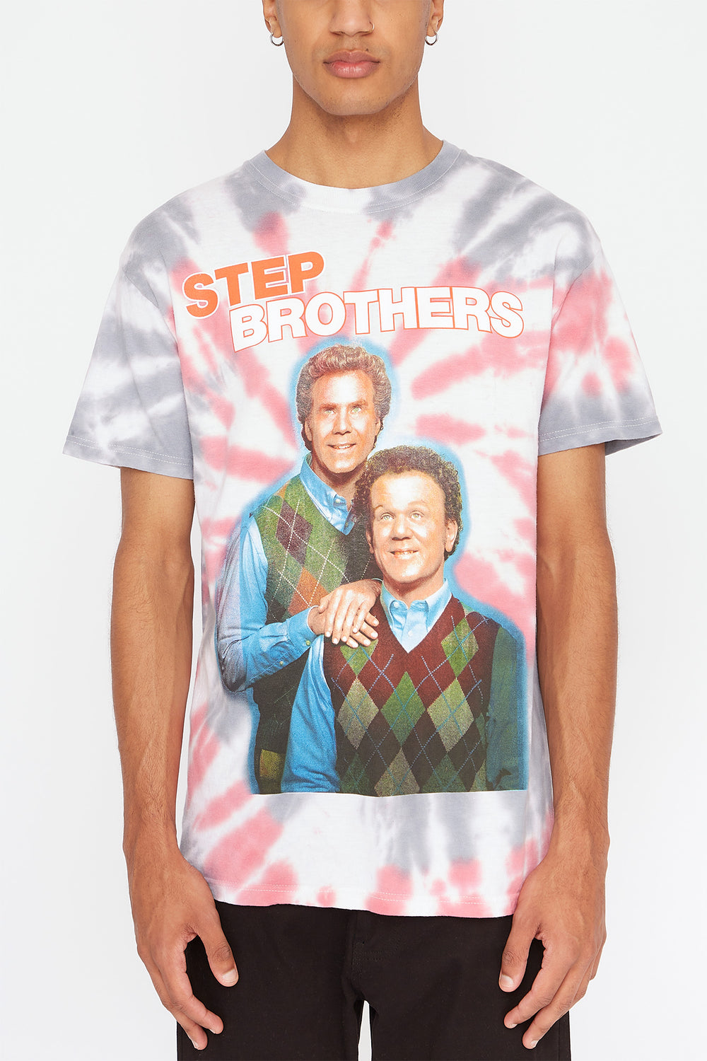 T-Shirt Step Brothers Homme Noir