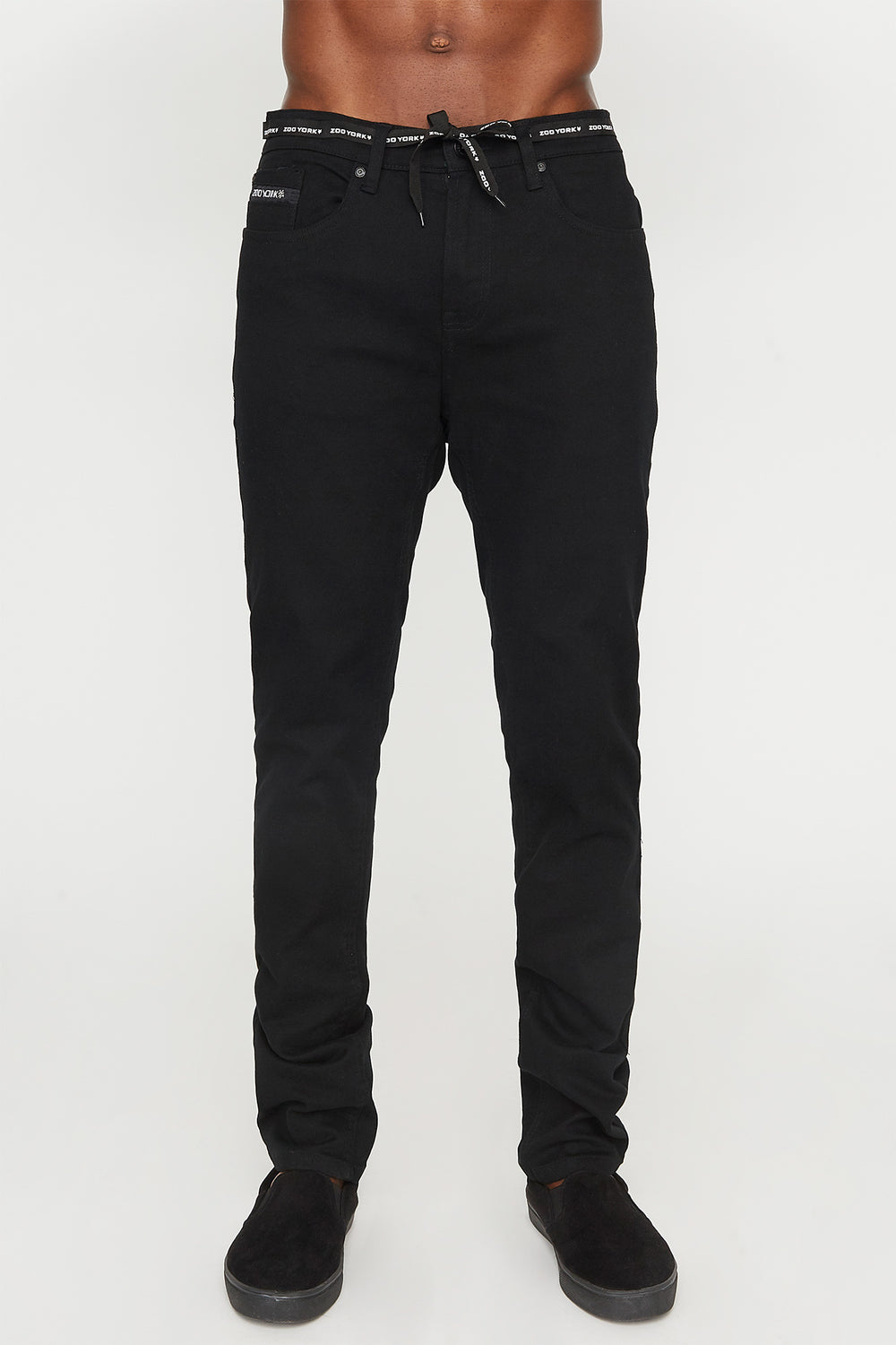 Zoo York Mens Skinny Jeans Black