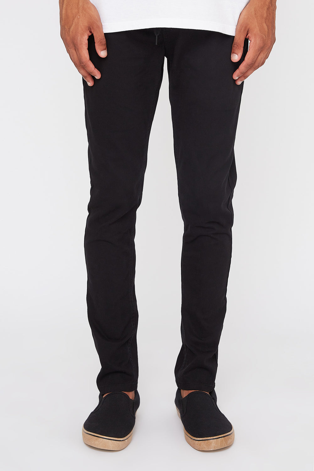 Chinos West49 Homme Noir
