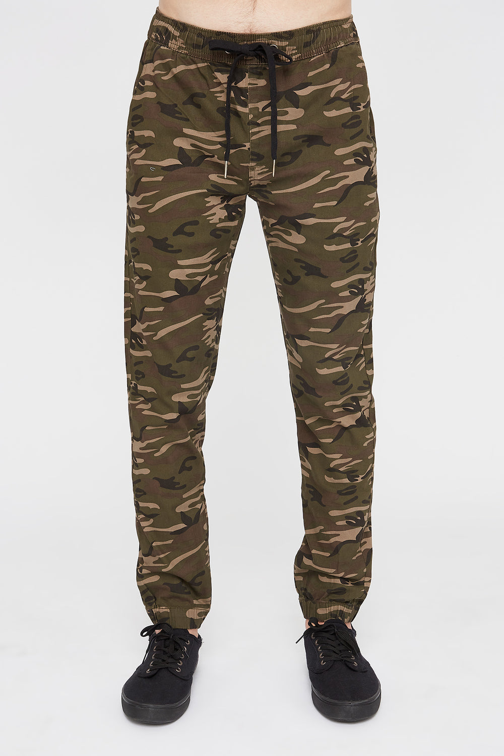 West49 Mens Camo Jogger Camouflage