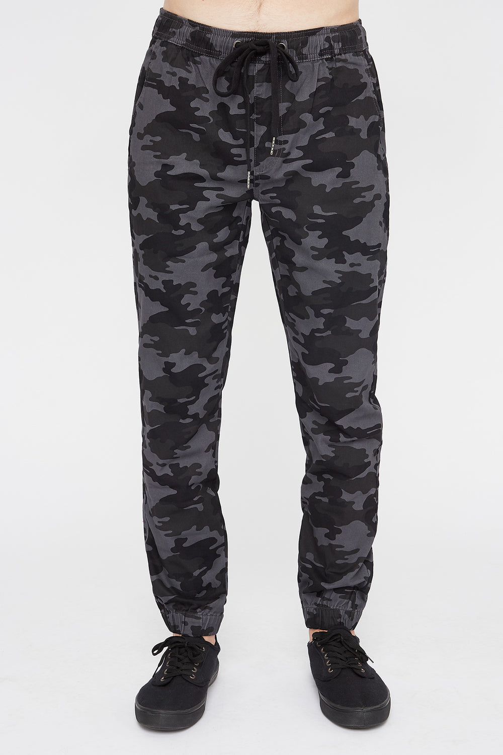West49 Mens Camo Jogger Gingham