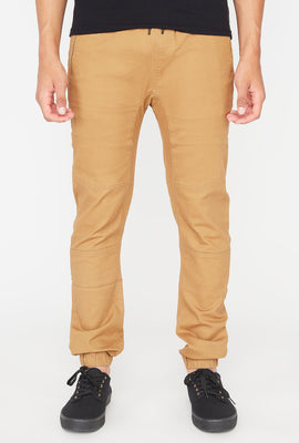 Zoo York Mens Solid Zip Jogger