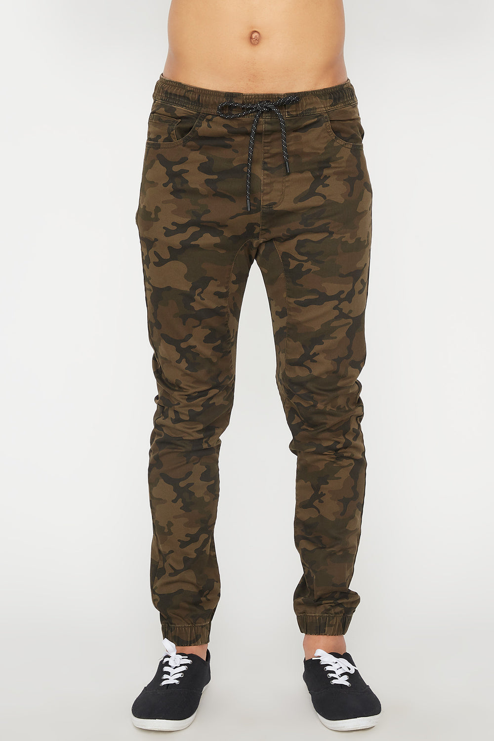 Zoo York Mens 5 Pocket Camo Jogger Camouflage