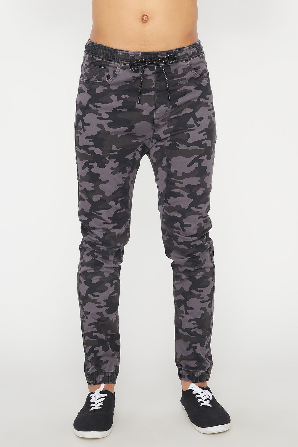 Zoo York Mens 5 Pocket Camo Jogger Gingham