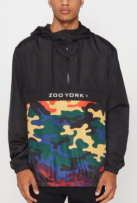 Zoo York Mens Rainbow Camo Anorak