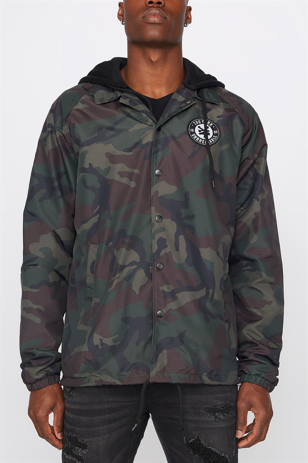 Manteau Coach Zoo York Homme Camoufle