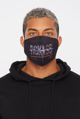 Young & Reckless Washable & Reusable Protective Face Mask 2-Pack
