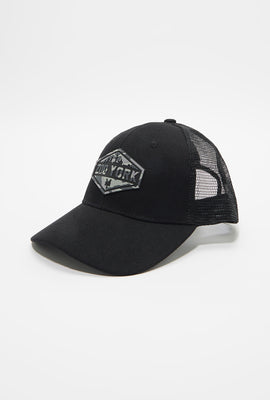 Casquette Trucker Logo Camouflage Zoo York Homme