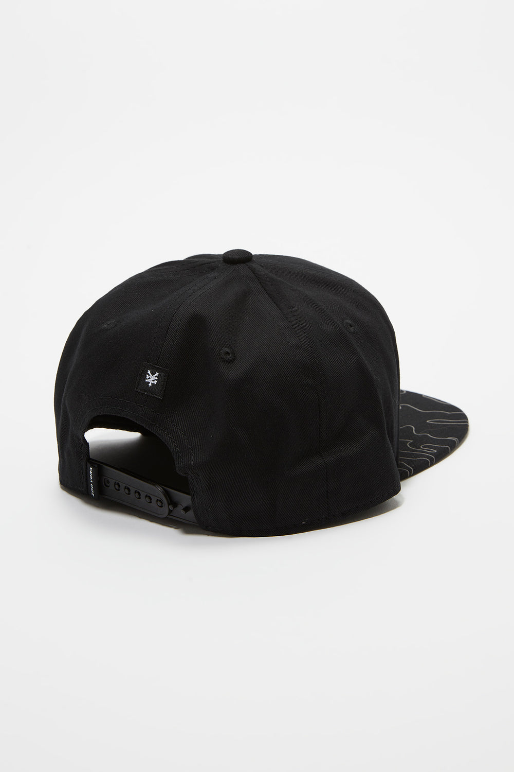 Zoo York Mens Reflective Snapback Buffalo Check