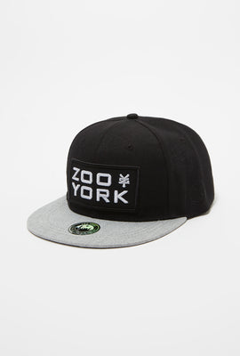 Zoo York Mens Patch Logo Snapback
