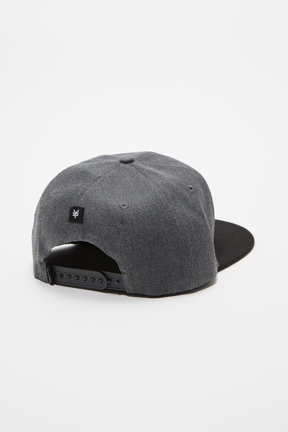Zoo York Mens Patch Logo Snapback Charcoal