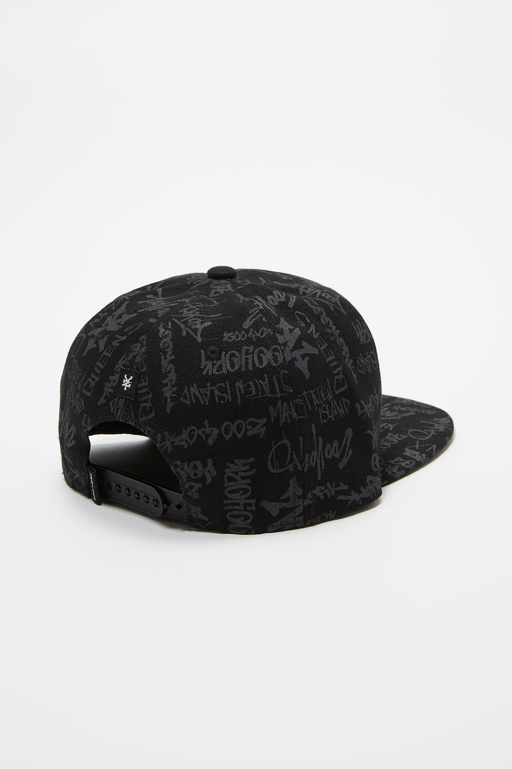 Zoo York Mens Graffiti Snapback Black