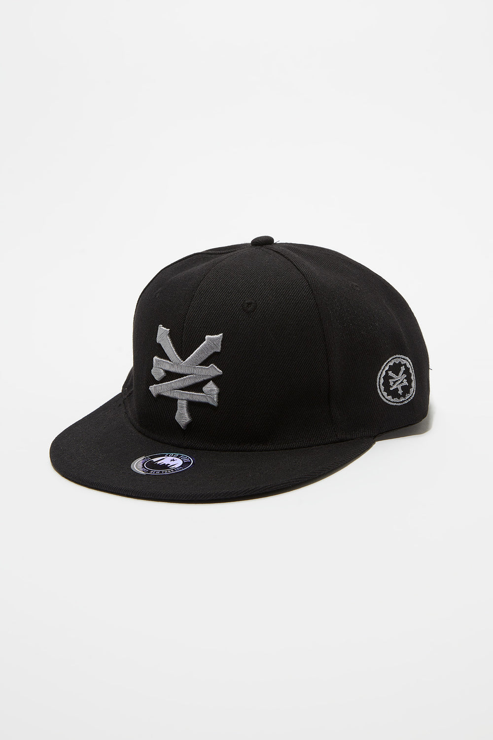 Zoo York Mens 2-Tone Snapback Black
