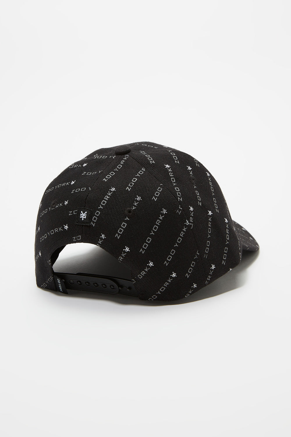 Zoo York Mens Disty Print Hat Black
