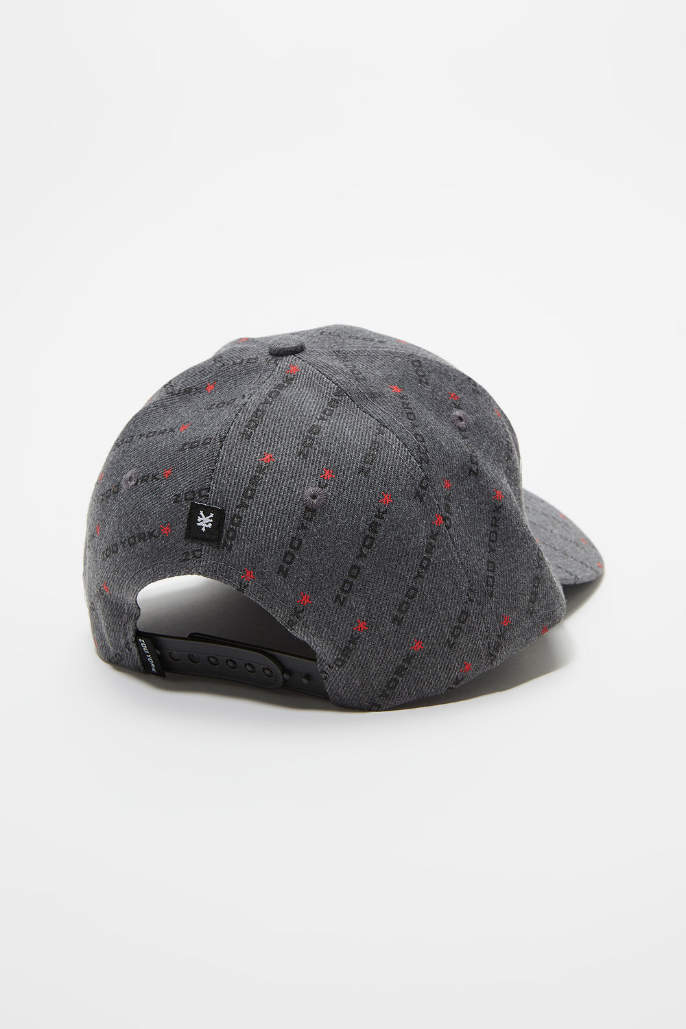 Zoo York Mens Disty Print Hat Charcoal