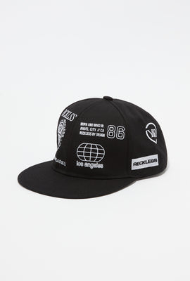 Young & Reckless Mens Spot Emblem Snapback Hat