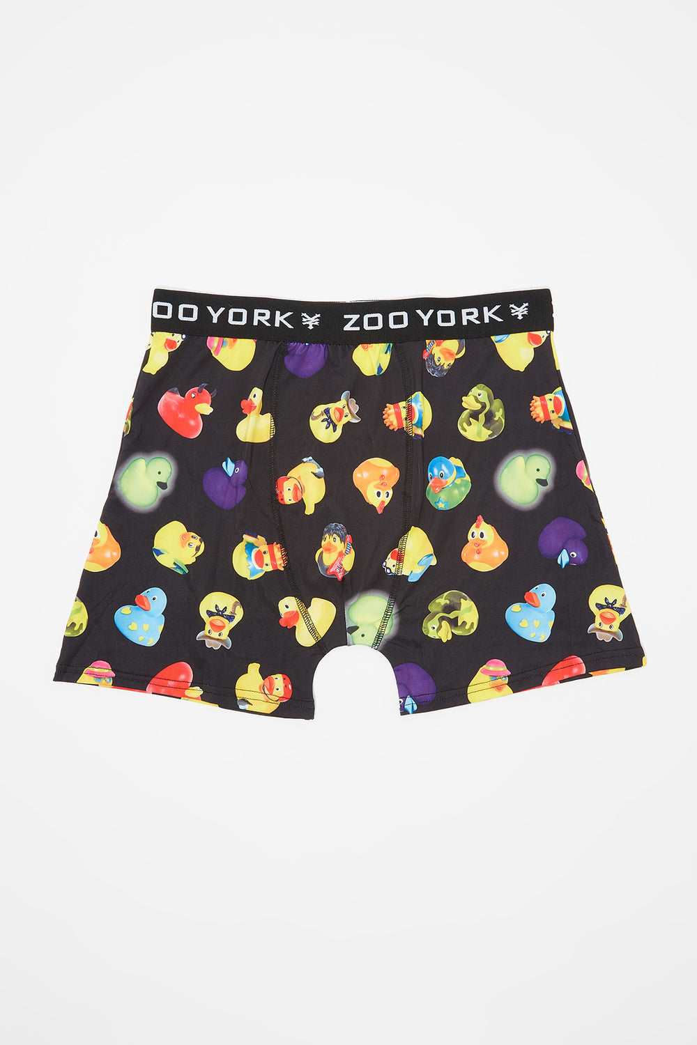 Zoo York Mens Ducky Boxer Brief Black