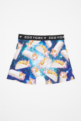 Zoo York Mens Cat Burrito Boxer Brief
