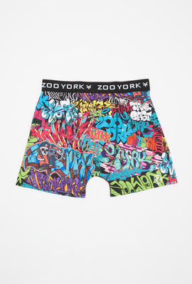 Zoo York Mens Graffiti Boxer Brief