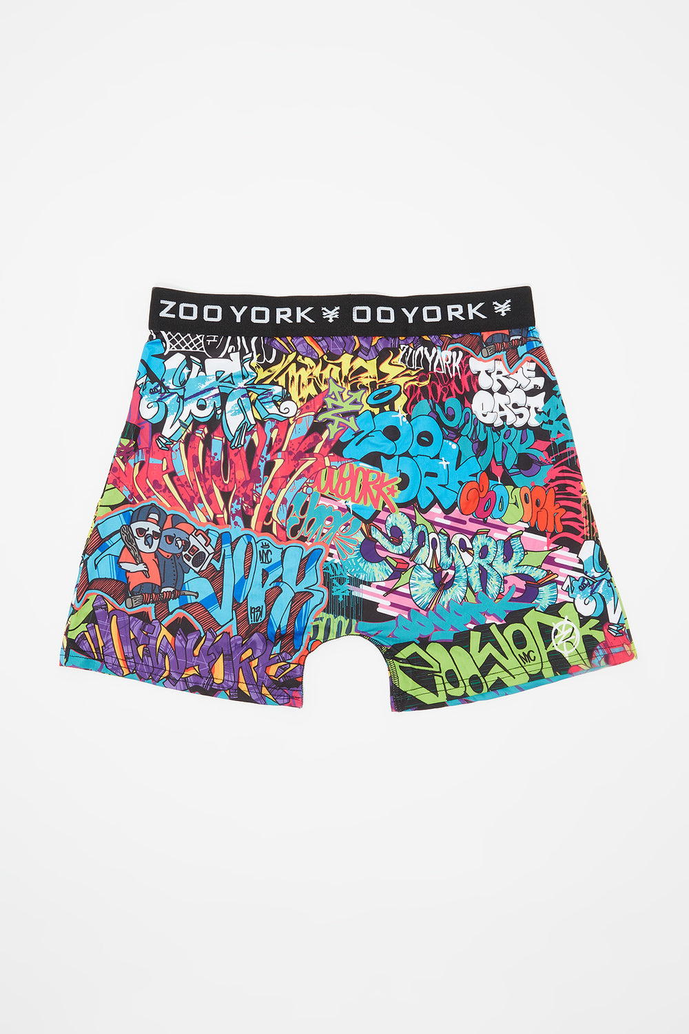 Zoo York Mens Graffiti Boxer Brief Multi