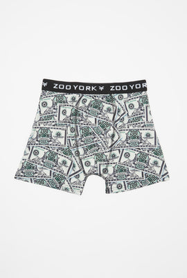 Zoo York Mens Dollar Bill Boxer Brief