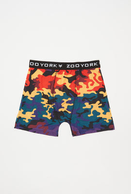 Zoo York Mens Rainbow Camo Boxer
