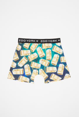 Boxer Imprimé Barres D'or Zoo York Homme