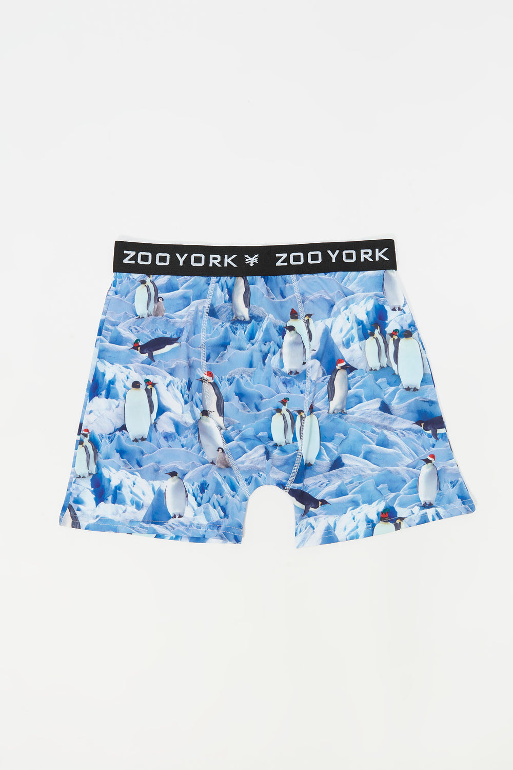 Zoo York Mens Penguin On Ice Boxer Blue