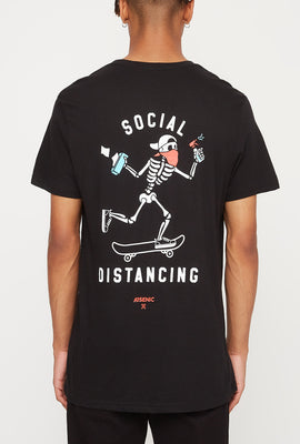 Arsenic Mens Social Distancing T-Shirt